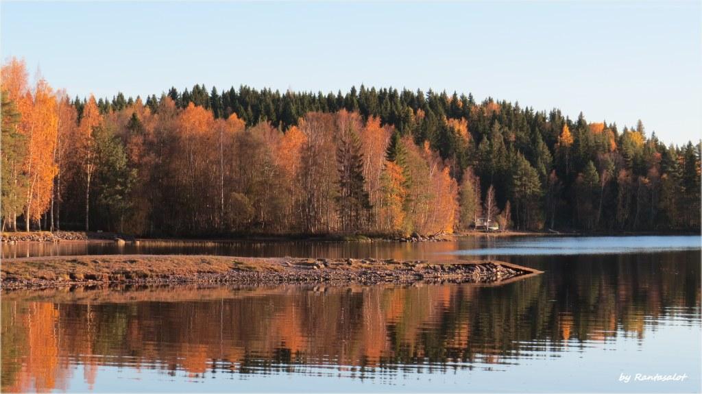 Kyrösjärven ranta