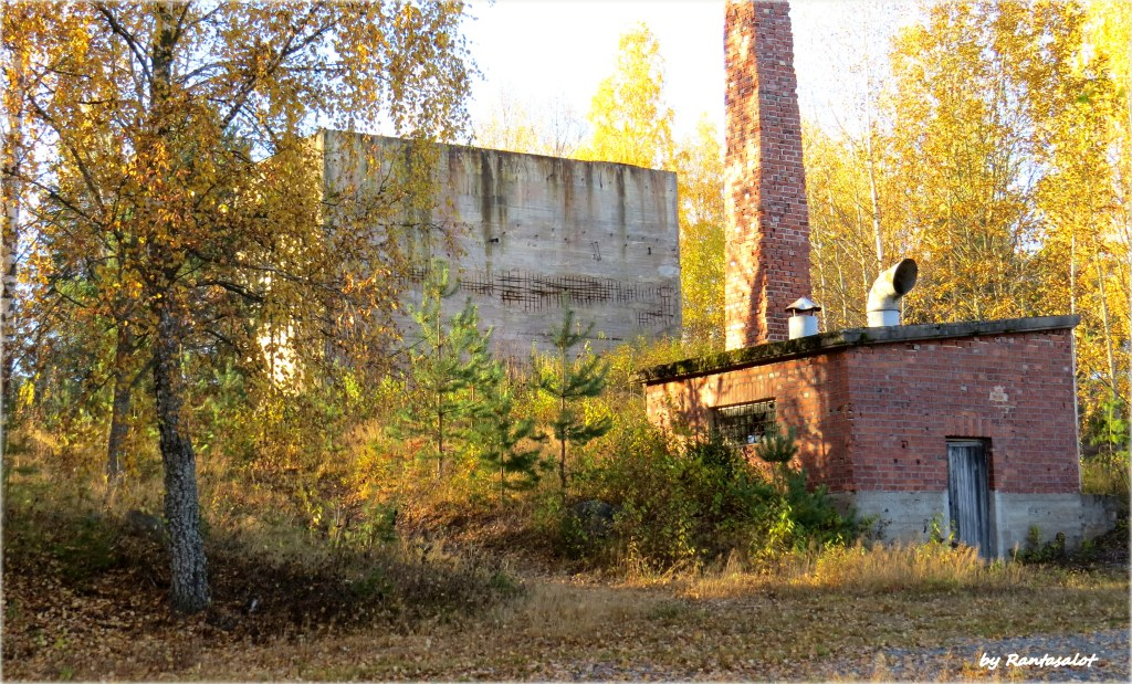 Vanhoja tehdasrakennuksia