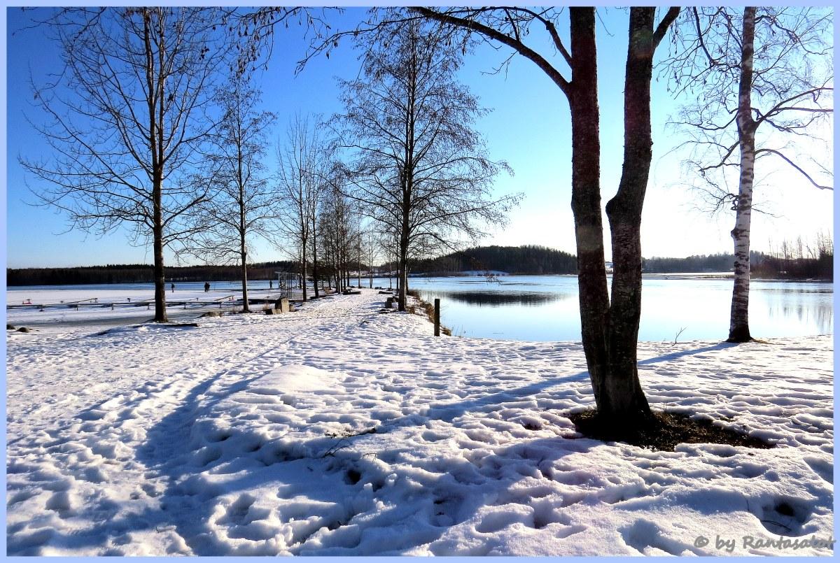 Lunta rannassa