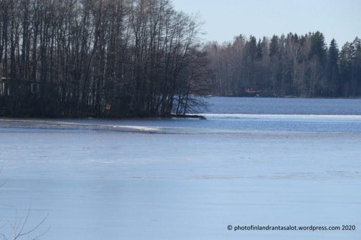 IMG_0176 Lavia Karhijärvi jää ja sulavesi